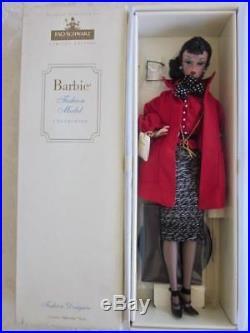 NRFB Pretty Silkstone Fashion Model Barbie Doll Fashion Designer LE FAO Schwarz