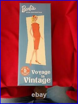 NRFB Voyage in Vintage Barbie Doll 50th Anniversary N6623 Gold Label Collection