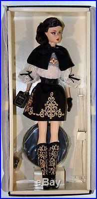 New Barbie 2014 Fashion Model Collection Dulcissima Silkstone Gold Label Doll