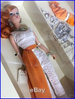 New Hollywood Hostess Silkstone Fashion Model Barbie Doll 2007 Gold Label NRFB