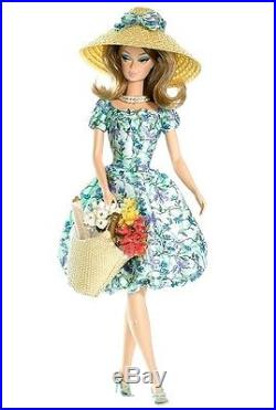 New NRFB Market Day Silkstone Fashion Model Barbie Doll 2007 Gold Label PCK 671