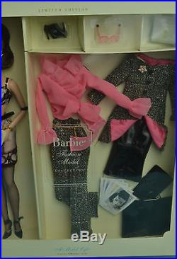 New Nrfb A Model Life Silkstone Barbie Doll Giftset Fashion Model Collection Le