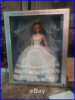 New Silkstone Fashion Model Beautiful Bride Barbie Doll Gold Label Ooak Mint