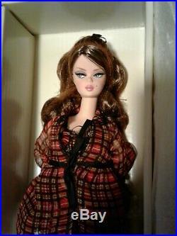 New Silkstone Fashion Model Highland Fling Barbie Doll Gold Label Beautiful. Nrfb