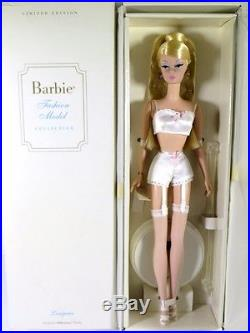Nib Barbie Doll 2000 Silkstone Fashion Model Collection Lingerie