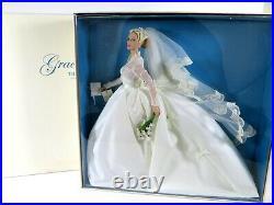 Nib Barbie Doll 2011 Grace Kelly The Bride Gold Label Silkstone T7942