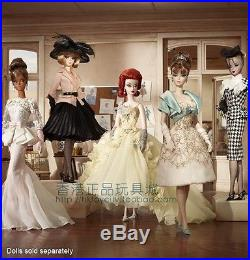 Nib Mattel Limited Gold Label Collector 2012 Silkstone Barbie Doll X8275 X8252