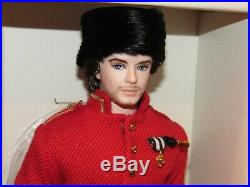 Nicolai Russian Ken Silkstone Barbie NRFB #T7679 2010 Gold Label 4000 worldwide