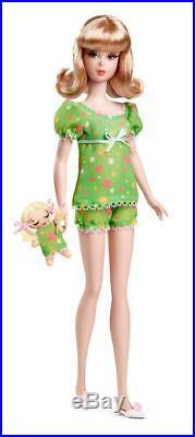 Nighty Brights Francie Barbie Gift Set Silkstone Doll