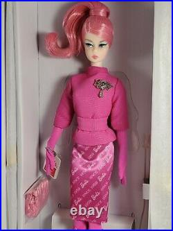 Nrfb Barbie Doll N147 Barbie Articulated Silkstone Fashion Model Proudly Pink