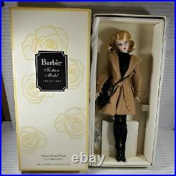 Nrfb Barbie Doll N515 Barbie Articulated Silkstone Model Classic Camel Coat