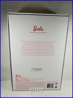 Nrfb Barbie Doll N821 Barbie Articulated Silkstone Midnight Glamour Auburn Mib