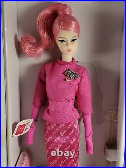 Nrfb Barbie Doll N837 Barbie Articulated Silkstone Fashion Model Proudly Pink