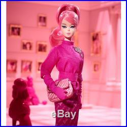 Nrfb Barbie Doll Silkstone Bfmc Proudly Pink 60th Anniversary