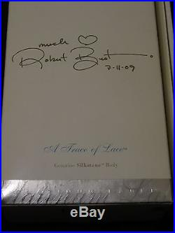 Nrfb Blonde Trace Of Lace Platinum Label Signed By Robert Best