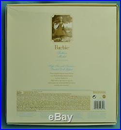 Nrfb High Tea And Savories Silkstone Barbie Giftset Gold Label Bfmc