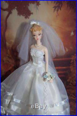 OOAK Fiorella SILKSTONE BARBIE DOLL withGown Restyled Vintage Ponytail