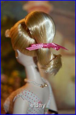 OOAK Fiorella SILKSTONE BARBIE Restyled to VINTAGE PONYTAIL with#931 GARDEN PARTY