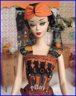 Ooak silkstone Barbie vintage style ponytail updo Halloween 2 outfits by Lolaxs