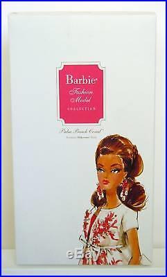 PALM BEACH CORAL Silkstone Barbie BFMC GOLD LABELNRFB