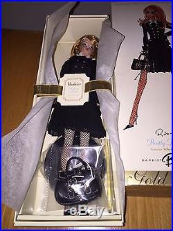 PRETTY PLEATS SILKSTONE Barbie Robert Best Model 2006 Gold Label NRFB! J0956
