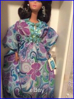 Palm Beach Breeze Silkstone Barbie Doll2009 Gold Label Mattel R4484 Nrfb