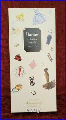 Parisienne Pretty Silkstone Barbie Doll Mattel N6594-9993 Gold Label NRFB NIB