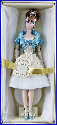 Party Dress Fashion Model Silkstone Barbie Doll Gold Label #W3425 New NRFB 2011