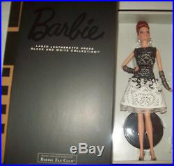 Platinum BFCM Black & White Collection ALL 3 Barbies Beaded Leatherette Classic