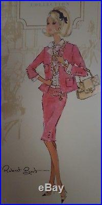 Preferably Pink 2008 Silkstone Barbie Beautifully Blond Nrfb