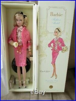 Preferably Pink Silkstone Barbie Nrfb 2007 Gold Label Mattel M4969