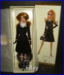 Pretty in Pleats Barbie Silkstone 2006 Robt Best Gold Label NRFB FREE ship USA