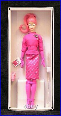 Proudly Pink Silkstone Barbie BFMC NRFB Poseable 2019 Gold Label Mattel FXD50