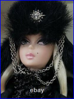 Rare 2010 Mattel Silkstone Verushka Barbie Doll Gold Label T7674 Nrfb