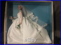 Rare GRACE KELLY THE BRIDE 2011 SILKSTONE Barbie Gold Label BFMC Doll T7942 NRFB