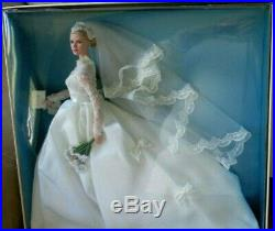 Rare GRACE KELLY THE BRIDE SILKSTONE Barbie NRFB Gold Label T7942