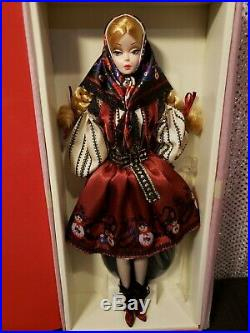 Rare Mila Silkstone Barbie Doll 2010 Gold Label Mattel T7672 Nrfb