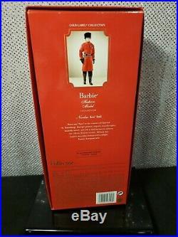 Rare Nicolai Silkstone Ken Barbie Doll 2010 Gold Label Mattel T7679 Nrfb