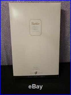 Rare Platinum Label Dahlia Silkstone Barbie Doll 2006 Mattel J4255 Nrfb