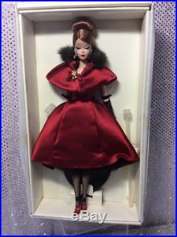 Ravishingly In Rouge Silkstone Barbie Doll 2001 Fao Schwarz Exclusive 52741