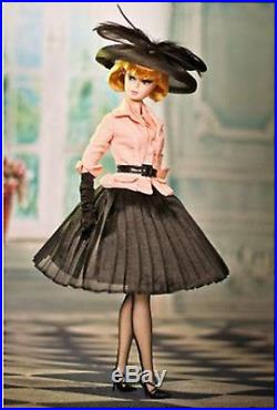 SILKSTONE BARBIE AFTERNOON SUIT BFC CLUB DOLL EXCLUSIVE NRFB in Shipper