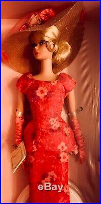 SILKSTONE Barbie FASHIONABLY FLORAL Gold Label 2014 #CGK91 NRFB
