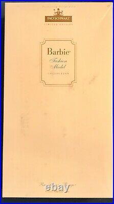 SILKSTONE Barbie RAVISHING IN ROUGE FAO Schwarz Exclusive 2001 #52741 NRFB