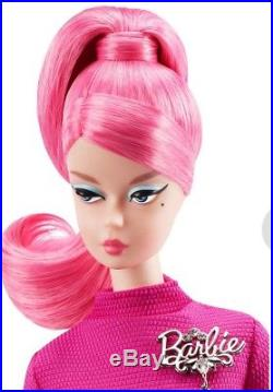 SILKSTONE PROUDLY PINK BARBIE DOLL 60TH Anniversary Barbie Collector 2018