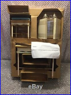 SILKSTONE VANITY & BENCH With ACCESSORIES FOR BARBIE DOLL 2004 B3436 MINT NRFB