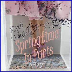 SPRINGTIME IN PARIS GAW Grant-A-Wish 2013 SIGNED Silkstone BARBIE NRFB