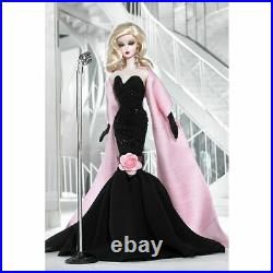 STUNNING IN THE SPOTLIGHT 2009 Silkstone BFMC Barbie Gold Label Doll N6603 NRFB