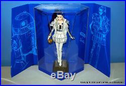 Set of 3 Barbie Star Wars Dolls R2D2, Leia, & Darth Vader Mattel 2019 NRFB