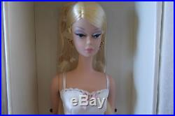 Silkstone #1 LINGERIE Blonde Barbie Doll with ERROR Box