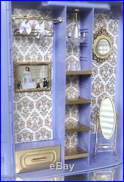 Silkstone Ave Barbie Doll Lavender Boutique BFMC Fashion Model Diorama